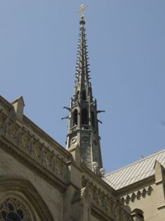 Spire of Grace Cathedral, San Francisco, CA